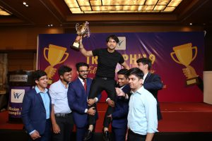 Dr. TS Walia with Trophy